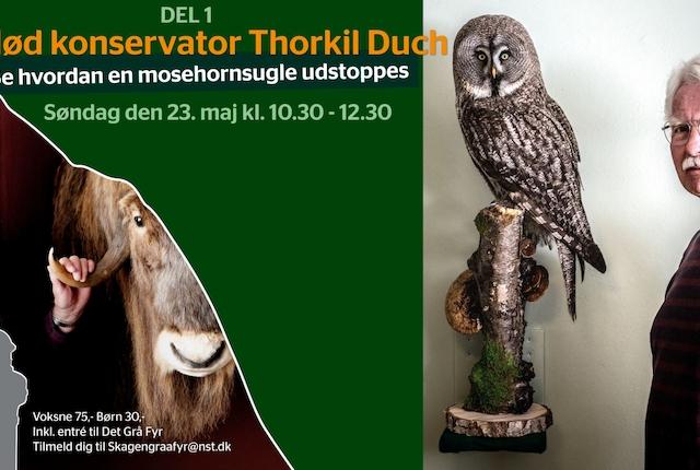 Det Grå Fyr - Mød konservator Thorkil Duch